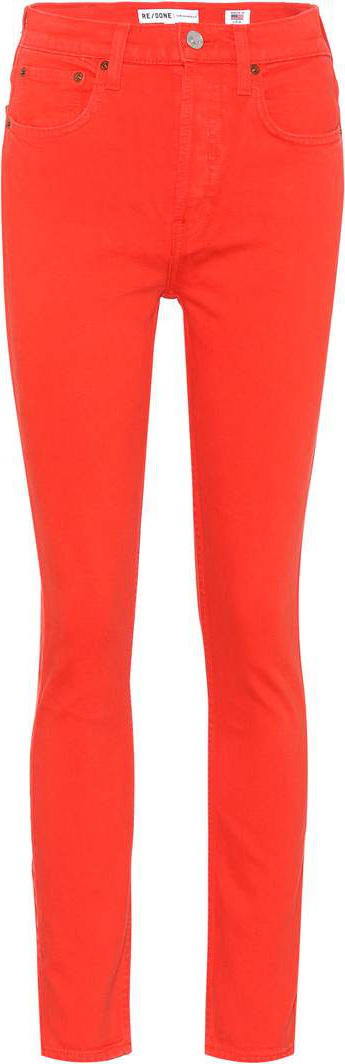 RE/DONE High Rise 30 skinny jeans