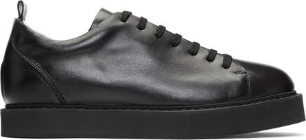 Ann Demeulemeester Black Calfskin Sneakers