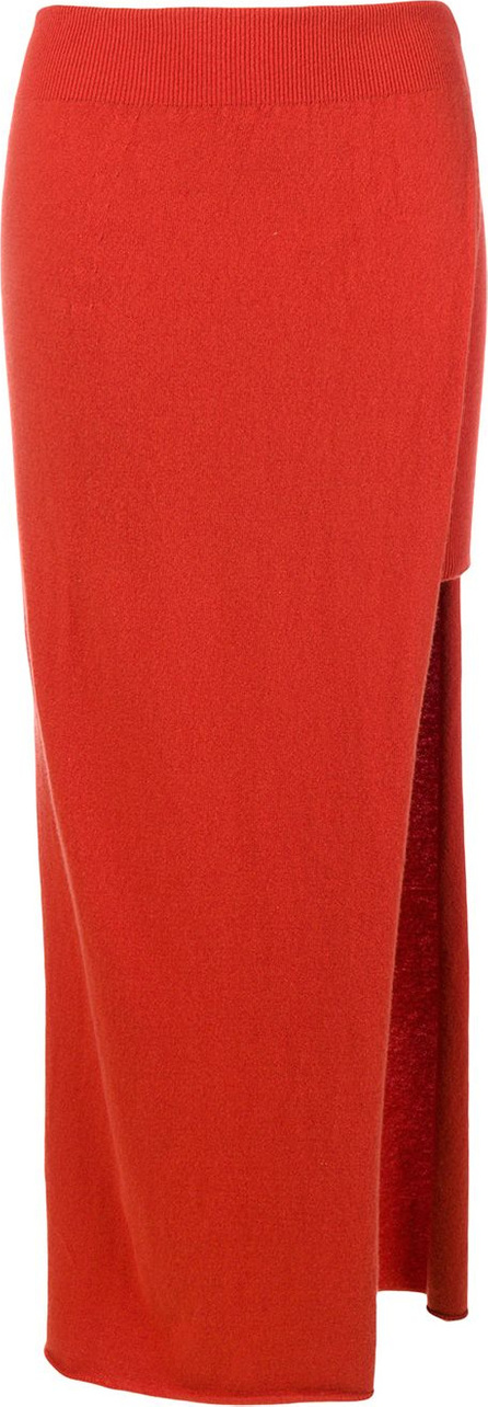 Jacquemus Asymmetrical layer skirt