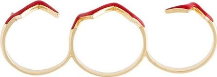 Gisele For Eshvi 'Fetri' branch ring