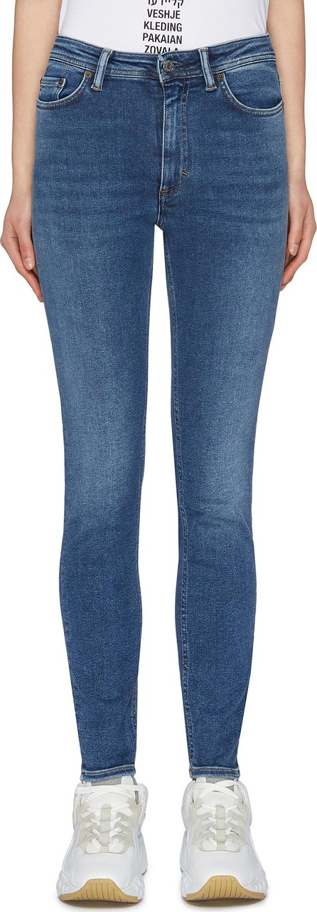 Acne Studios 'Peg' washed skinny jeans