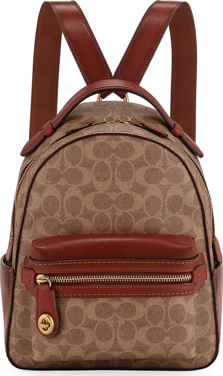 COACH 1941 Campus 23 Signature Coated Canvas Backpack