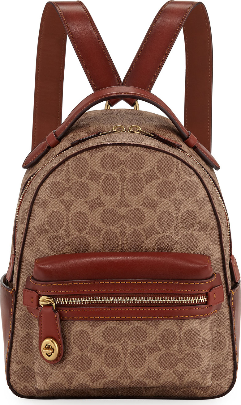 8ad1e8e7e7b30 ... where can i buy coach 1941 campus 23 signature coated canvas backpack  99984 91e52 ...