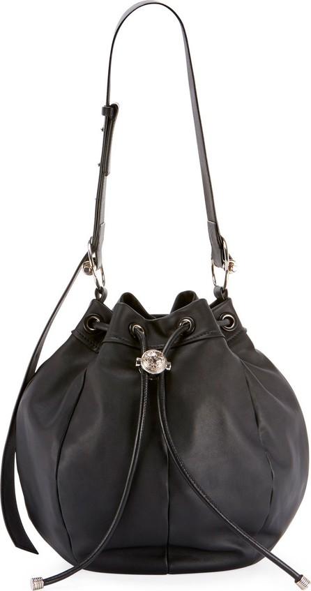 Balmain Medium Leather Bucket Bag