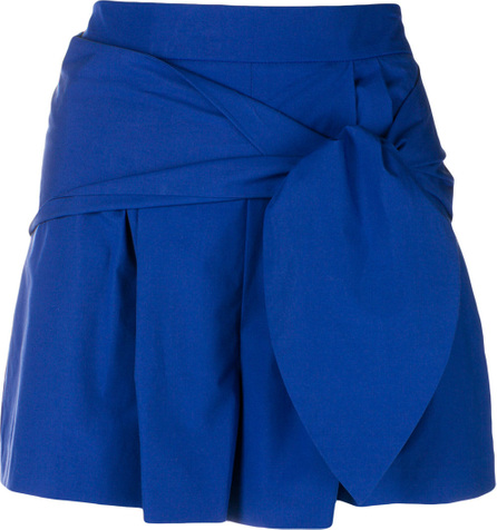 Genny High-waisted belted shorts