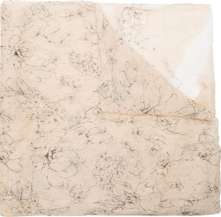 Uma Wang Printed scarf