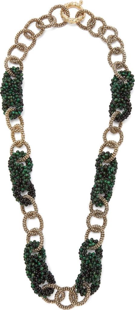 Rosantica Carramato bead-embellished necklace