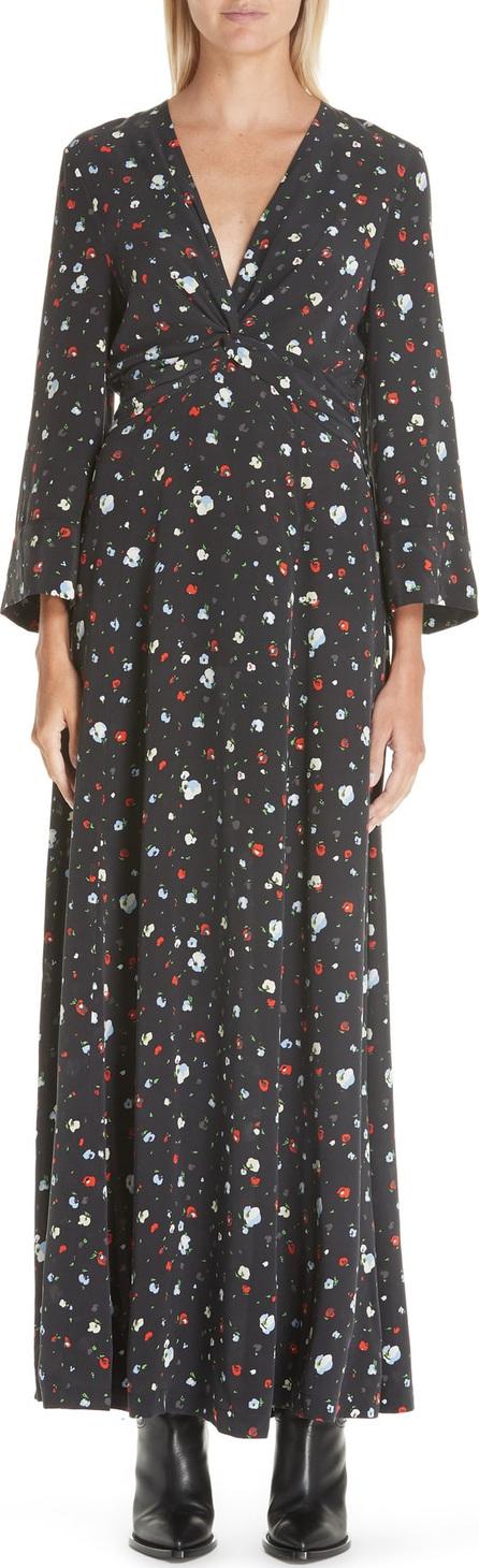 Ganni Nolana Silk Maxi Dress