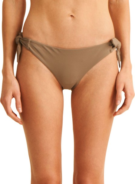 SKIN The Rosie Side-Tie Hipster Swim Bikini Bottoms