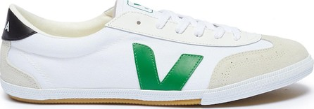 Veja 'Volley' suede panel organic canvas sneakers