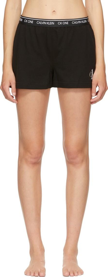 Calvin Klein Underwear Black 'CK One' Basic Sleep Shorts
