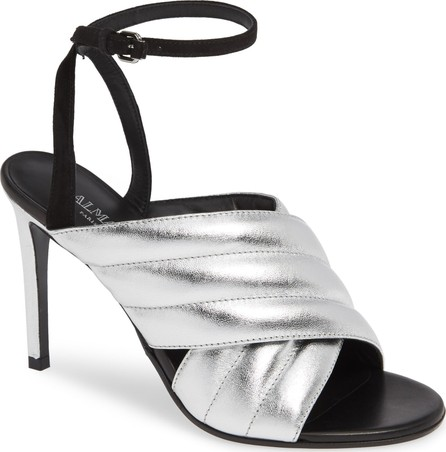 Balmain Janel Quilted Sandal