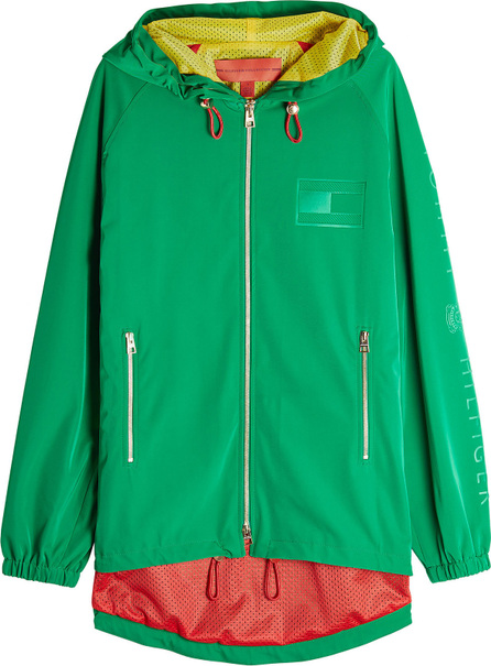 Hilfiger Collection Crest Zipped Jacket with Hood
