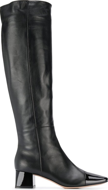 Gianvito Rossi 50mm cap toe boots
