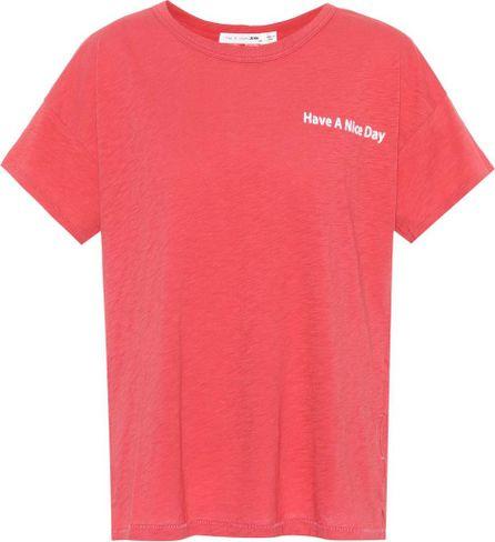 Rag & Bone Have A Nice Day cotton T-shirt