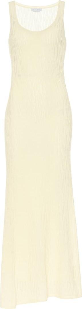 Gabriela Hearst Lissa silk mesh maxi dress