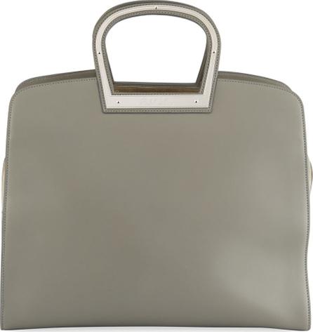 Ralph Lauren Horseshoe Leather Tote Bag
