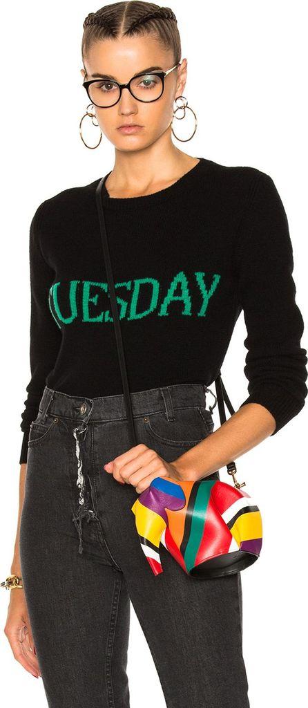 Alberta Ferretti Tuesday Crewneck Sweater