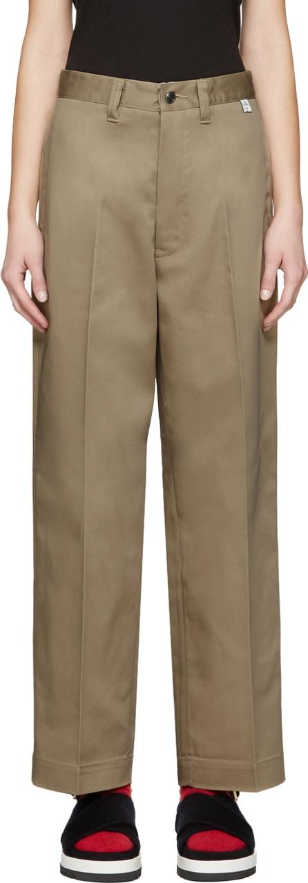 FACETASM Beige Dickies Edition Trousers