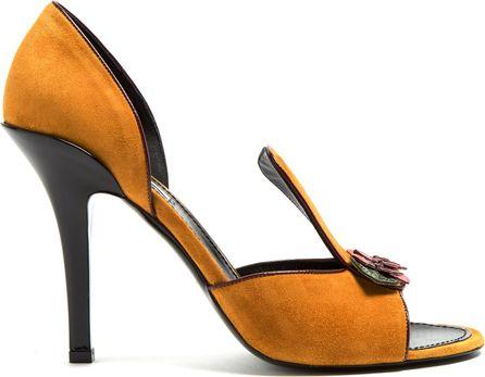 Fabrizio Viti Be My Valentine suede sandals