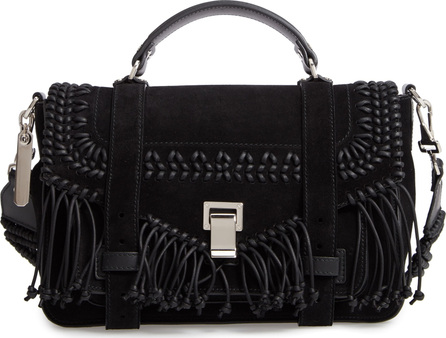Proenza Schouler Medium PS1 Calfskin Suede Satchel
