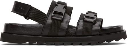 Tiger Of Sweden Black Jordan Sandals