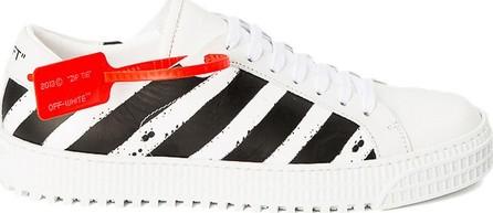 Off White diagonal low top sneakers