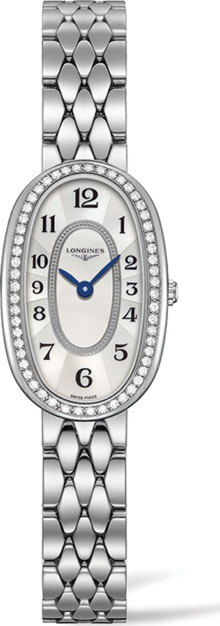 Longines Symphonette Diamond, Mother-Of-Pearl & Stainless Steel Watch