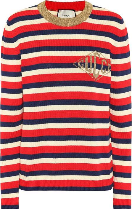 Gucci Striped cotton sweater