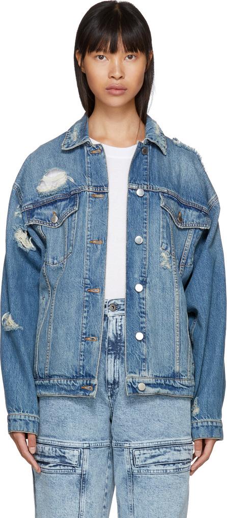 Stella McCartney Blue Boyfriend Denim Jacket