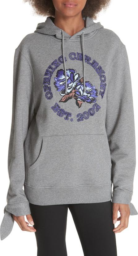 Opening Ceremony Lace Inset Logo Sweatshirt