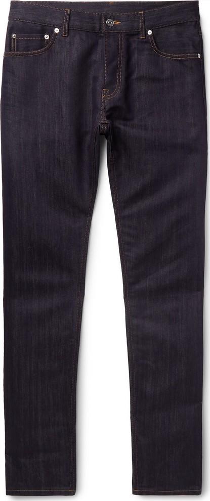 Berluti Slim-Fit Cotton and Mulberry Silk-Blend Denim Jeans