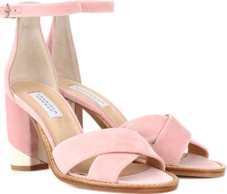 Gabriela Hearst John velvet sandals