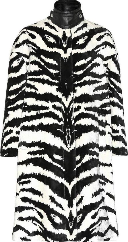 Alexander McQueen Tiger jacquard coat