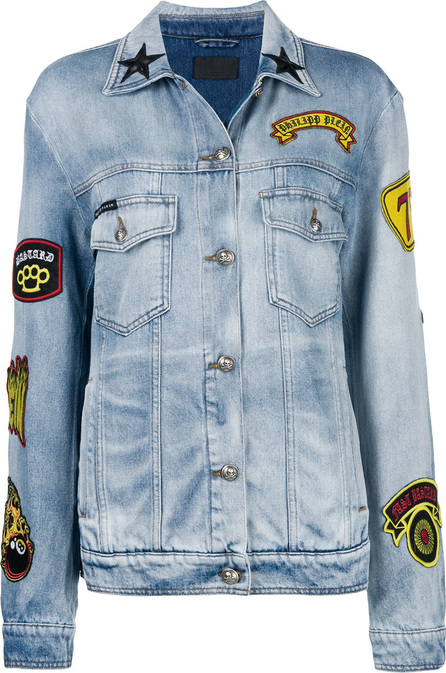 Philipp Plein Fashion Show denim jacket