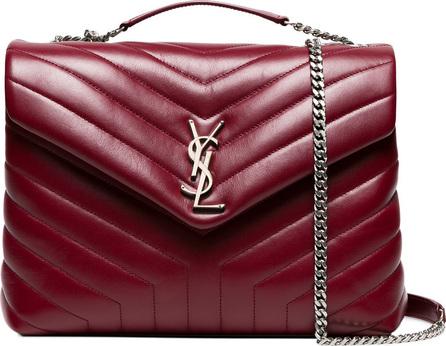 Saint Laurent Red LouLou shoulder bag