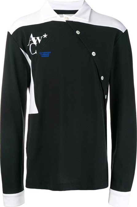 A-Cold-Wall* P2 bicolour polo shirt
