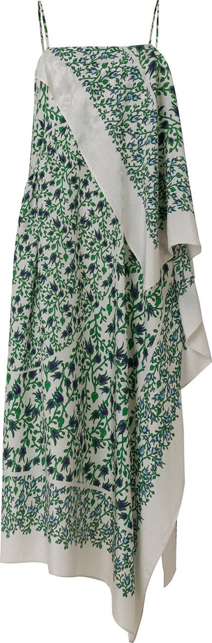 Christian Wijnants Floral shift midi dress