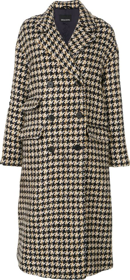 Ermanno Ermanno Scervino double-breasted oversized coat