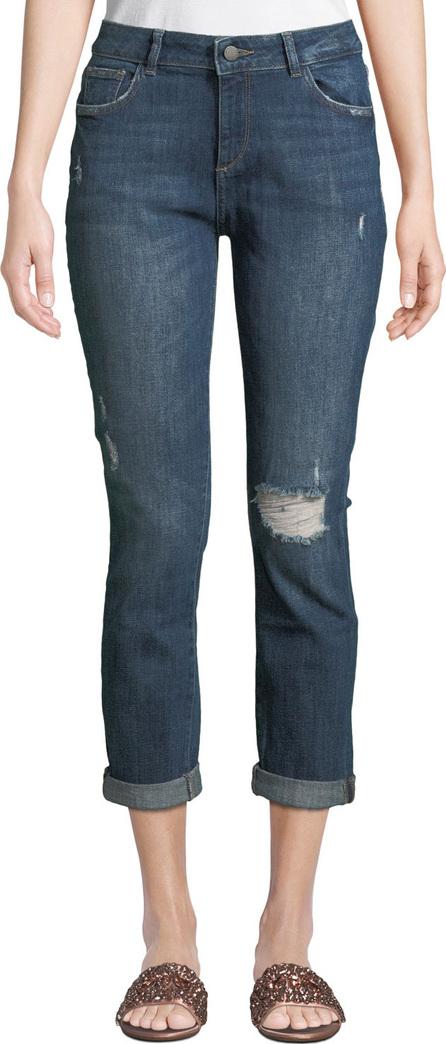 DL1961 Stevie Distressed Slim Boyfriend Jeans