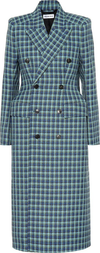 Balenciaga Hourglass wool coat