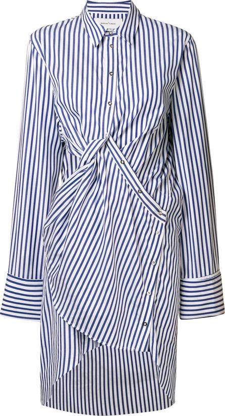 Marques'Almeida Twisted striped shirt