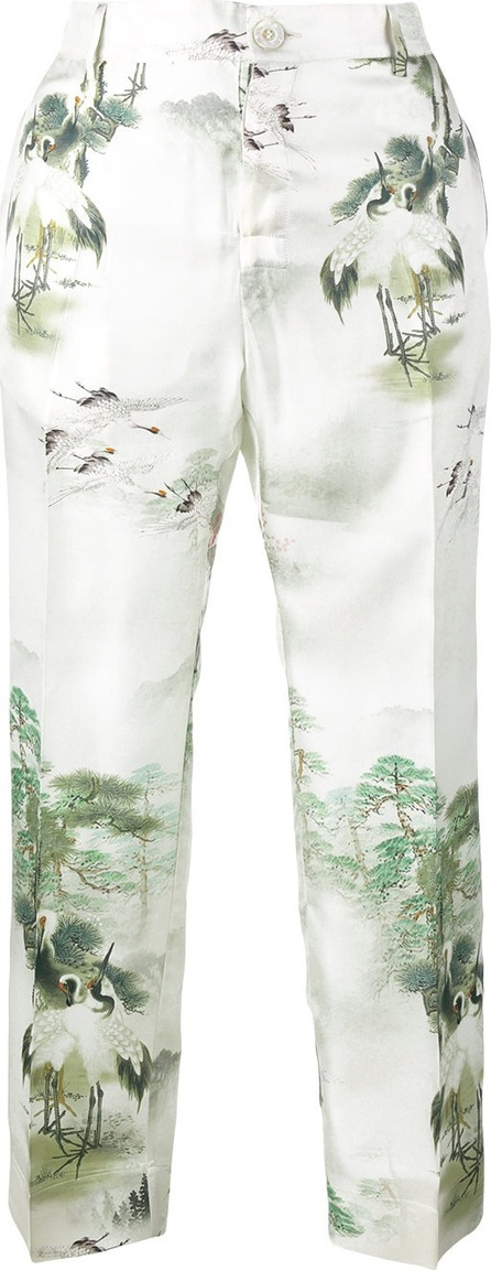 F.R.S For Restless Sleepers Japanese print pyjama trousers