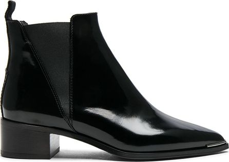 Acne Studios Leather Jensen Brush off Booties