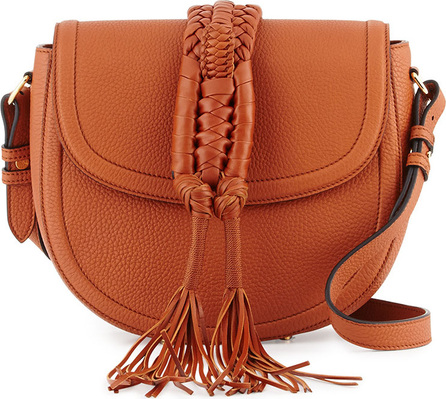 Altuzarra Ghianda Woven Knot Saddle Bag