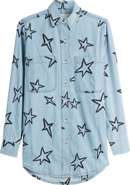 Etre Cecile Embroidered Denim Shirt