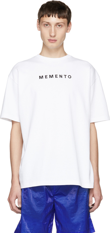 Filling Pieces White Graphic T-Shirt
