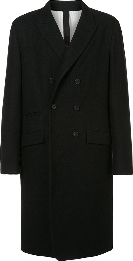 Forme D'expression Button fastened longsleeved coat