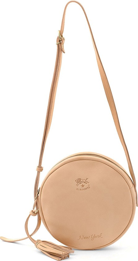 Il Bisonte Leather New York Circle Bag
