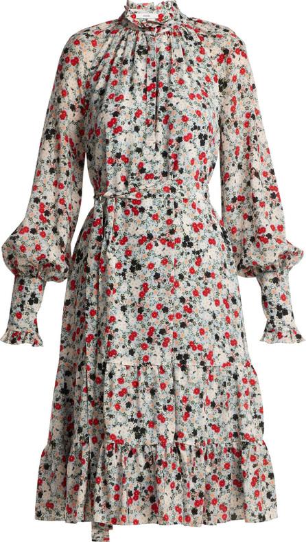 Erdem Eugenie daisy-print silk dress